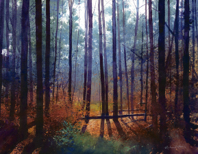 Prelude to an Afternoon of a Fawn. Limited Edition Giclee by Richard Thorn. Unframed. £165