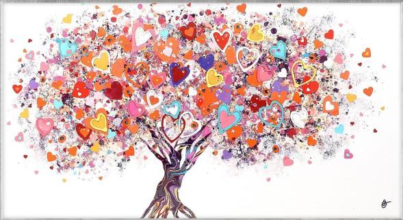 Tree of Hearts by Sara Otter. Framed. £220