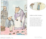 Goldilocks And The Three Bears, by Roald Dahl. Framed, £159