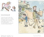 Jack And The Beanstalk, by Roald Dahl. Framed, £159