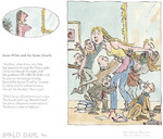 Snow White and The Seven Dwarves, by Roald Dahl. Framed, £159