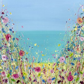 Summer Dreams. Limited Edition Giclee by Julie Clifford. Unframed. £225