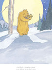 Little Bear Had Gone To Sleep... by Barbara Firth. Limited-edition framed print, £139
