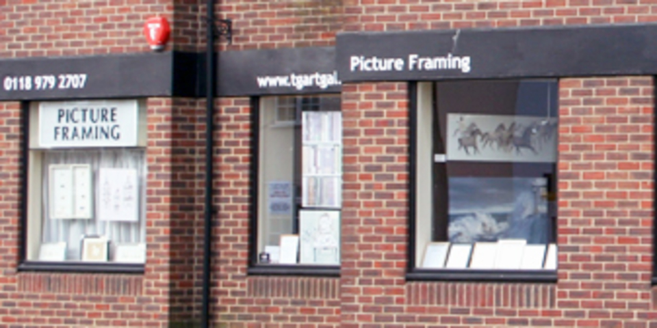 TG Art Gallery in Wokingham. Art, picture framing, Iain Faulkner, Michael Wood, Roald Dahl